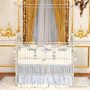 venetian iron crib in antique white by bratt decor
