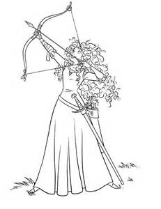printable brave coloring pages coloring me