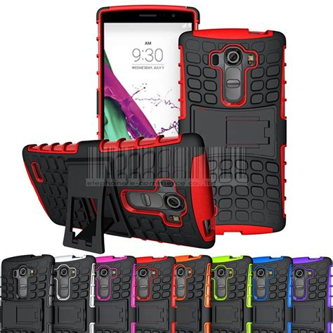 Lg G4 Beat G4s Heavy Armor Stand Cover Casing Keren Gagah Kuat shockproof hybrid impact stand rugged armor protective cover for lg g4 beat lg g4s