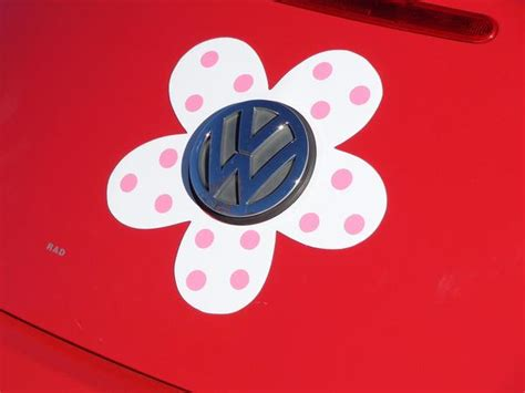 Squishi Magnet Donat Tipe 1 magnetic decal flower pink polka dots bling my bug