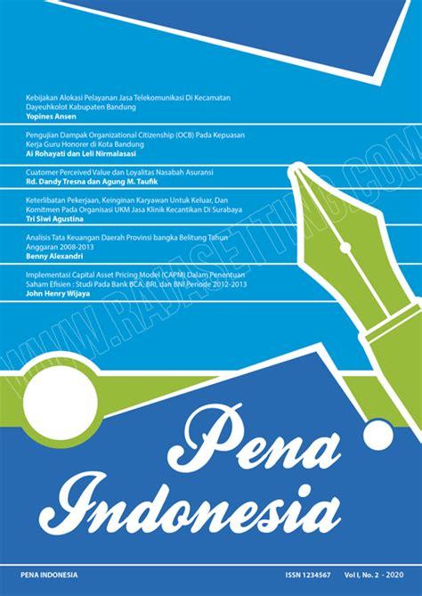 jurnal layout peta desain cover jurnal pena indonesia cetak offset dan