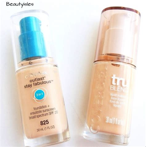 Promo Covergirl Outlast All Day Stay Fabulous Beige 840 covergirl foundation reviews outlast stay fabulous vs trublend isles