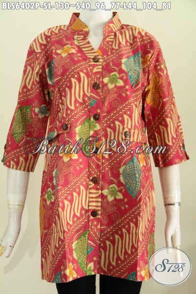 Blus Batik Halus Harga Murah Baju Batik Mewah Harga Murah Produk Busana Batik