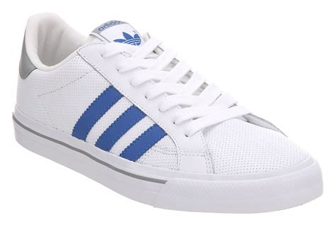 adidas sneakers classic adidas classic vulc white blue alu trainers shoes dd