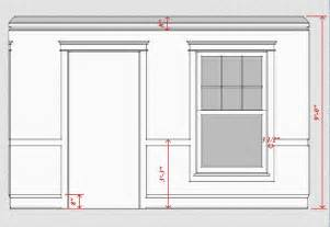 Baseboard Height by Interior Trim Scale Amp Proportion Time To Build