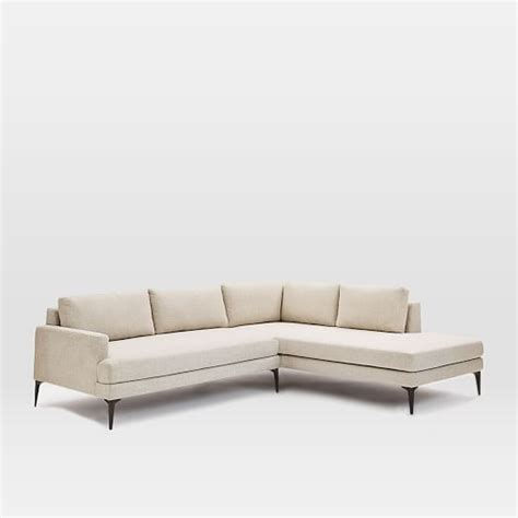 west elm andes sofa review andes terminal chaise sectional stone twill west elm