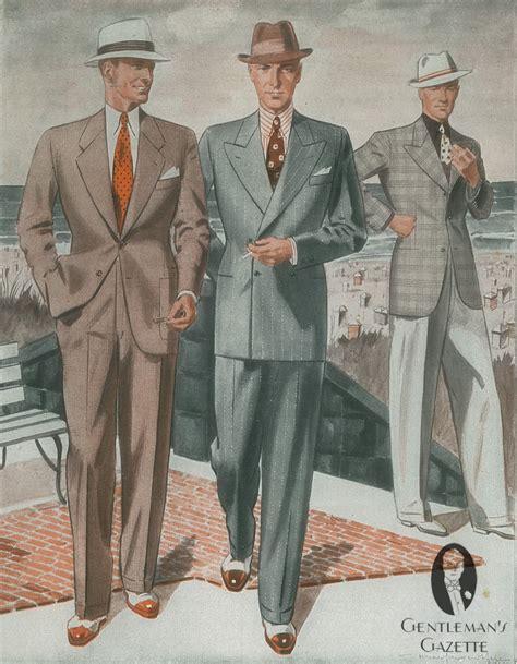 a popular style of 1930s suit gentleman s gazette sommermode im deutschland der 30er