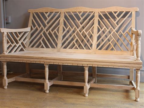 lutyens style three seater garden bench charles saunders