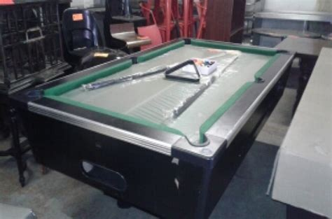 slate top pool table brand slate top coin operated pool table other
