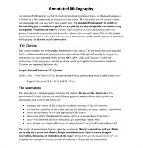 free apa bibliography template doc 585610 annotated bibliography template 7 annotated