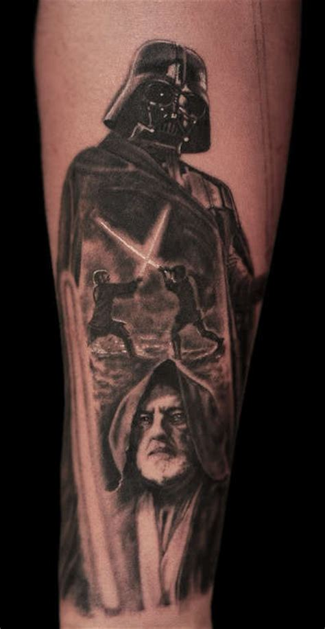 luke skywalker tattoo ericdsouza light saber luke skywalker darth vader starwars