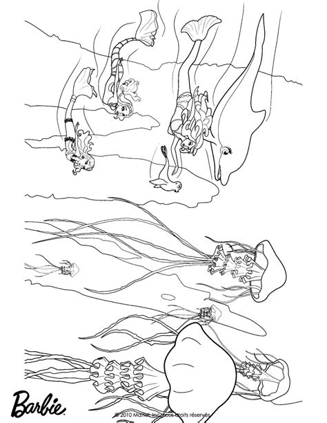 barbie swimming coloring pages barbie in a mermaid tale coloring pages mermaids swimming