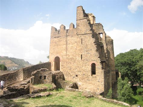 17th Century Palace In Gondar Ethiopia International