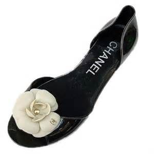 chanel camellia casual black shoes coco chanel footwear