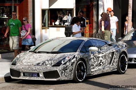 Pimped Lamborghini Lamborghini Gallardo Pimped With Sharpie Markers