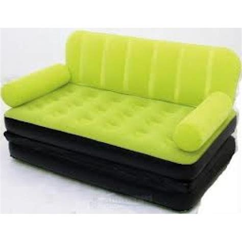 sofa air bestway velvet 5 in 1 air sofa bed air launcher mrp