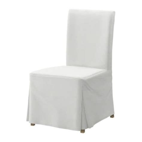 White Slipcovered Dining Chairs White Budget Henriksdal Slipcovered Dining Chair At Ikea Chairs Dining Room Furniture