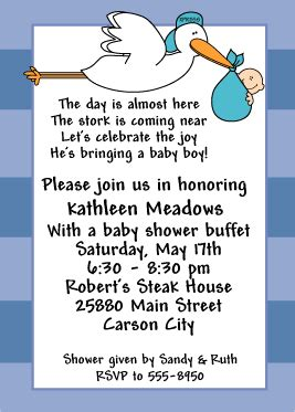 Baby Shower Invitation Wording For A Boy by Wording For Baby Boy Shower Invitations Theruntime