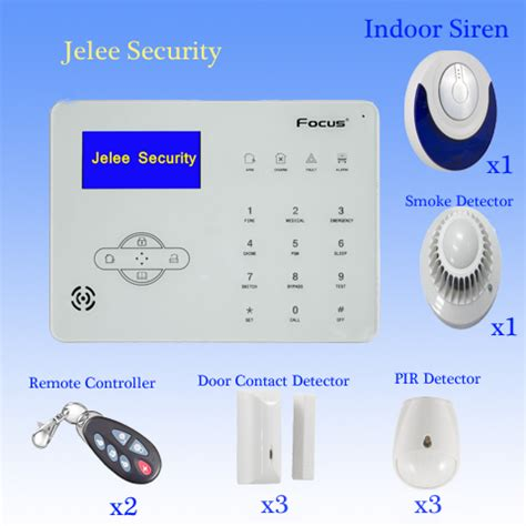 home alarm system jelee security alarm