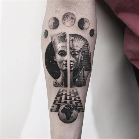 egyptian gods tattoos gods by oscarakermo ideas