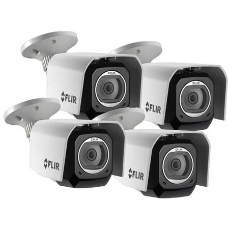 flir fx 4mp wireless hd outdoor camera w/cloud recording