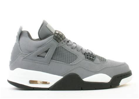 The Air 4 Cool Grey by Air 4 Retro Quot Cool Grey Quot 2004 Charcoal Varsity Maize Sbd