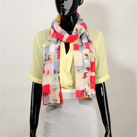 Multi Color Scarf agsc027 stylish multi color s scarf