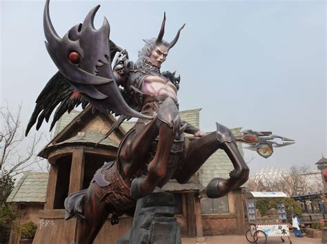 theme park mmo wow news gaming theme park in china world of warcraft