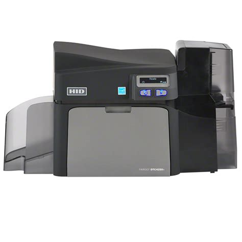 card printer fargo dtc4250e id card printer encoder card printing