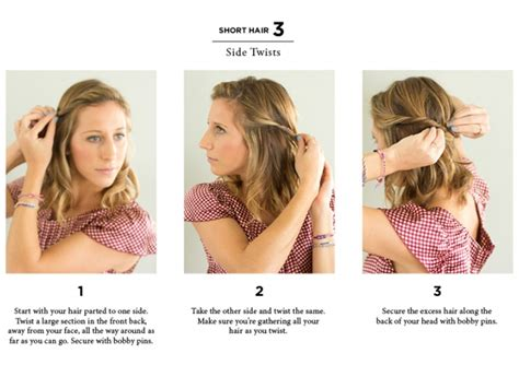 steps to a short and easy hair styles for teens 10 easy ways to style hair the everygirl