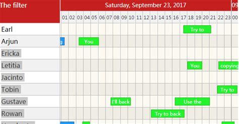 layout animation react native exle a simple react calendar timeline demo