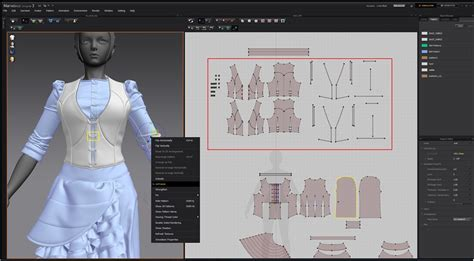 Tshirt Stp Duplicate Cloth modeling 3d clothes in marvelous designer by jh park
