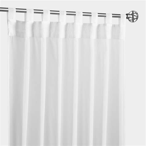 white curtains tab top white escape tab top outdoor curtain world market