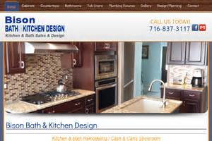 Bathroom Showrooms Buffalo Ny Bison Bath And Kitchen Design Showroom Buffalo Ny