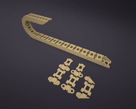 diy cnc cable carrier dxf file link  included diy