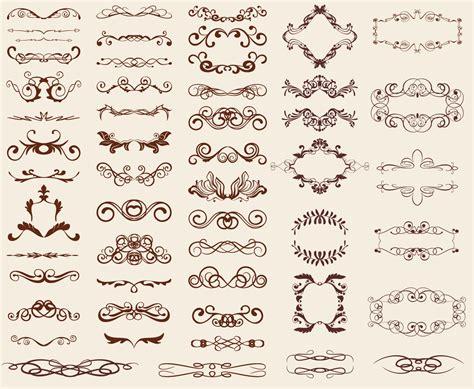 design elements is レトロなデザイン素材 retro design elements ai eps イラストレーター