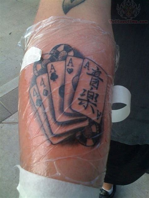 poker tattoo cards