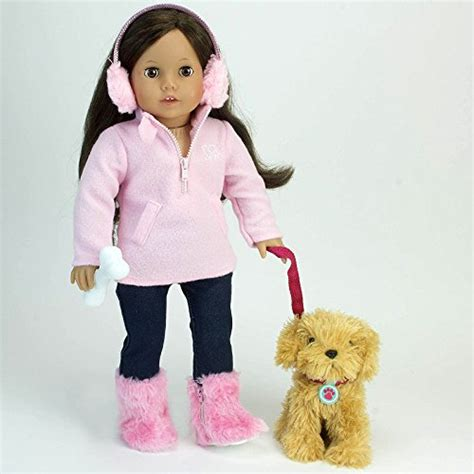puppy doll doll pet puppy play set fits 18 inch american dolls furniture ebay