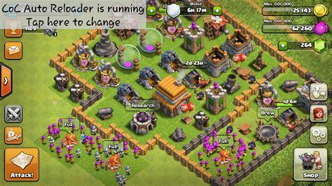 membuat game coc cara membuat clash of clans tetap online seharian tanpa