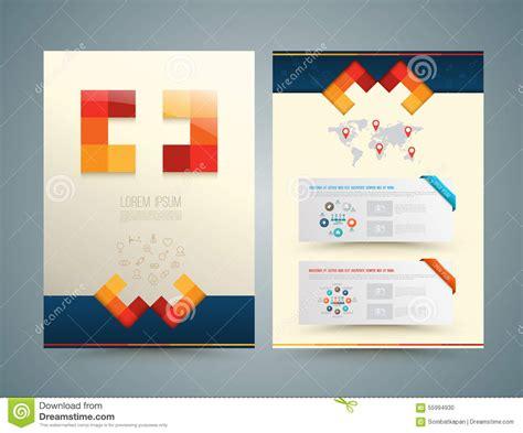 flyer design lab brochure or flyer design medical style stock vector