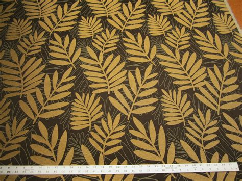 Upholstery Pattern r9767 2 7 8 yards of leaf pattern upholstery fabric