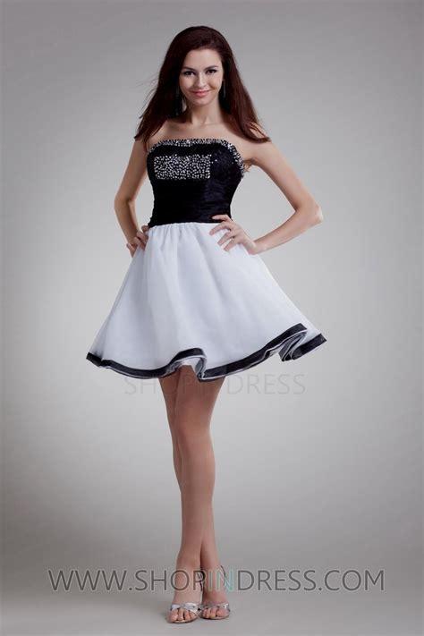 Dress W5796uzi D Black White and white dresses for teenagers naf dresses