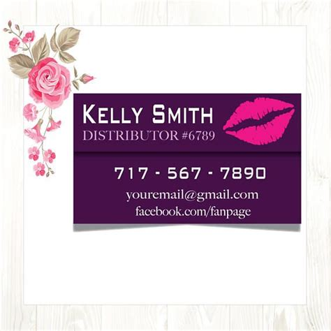 Senegence Business Card Template by 25 Best Ideas About Lipsense Business Cards On