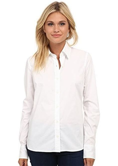 S White Sleeve Button Up Blouse by True Religion True Religion S Fitted Button