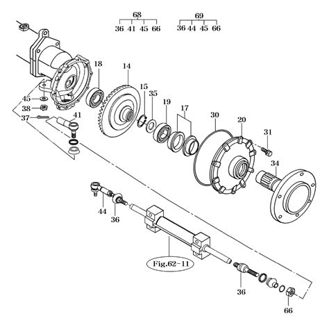 Tie Rod Hijat Zebra Left Right S88 steering front axle parts for 2810 mahindra tractor