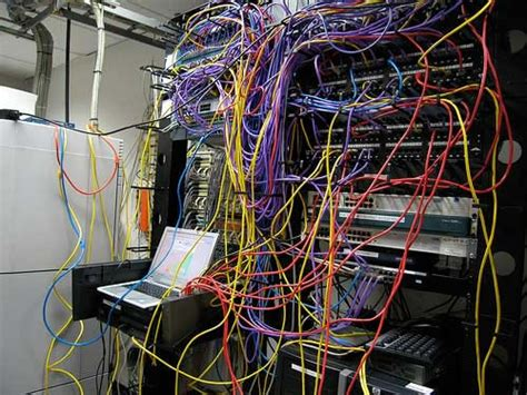 messy wires server room cabling hell 15 of the worst server wiring