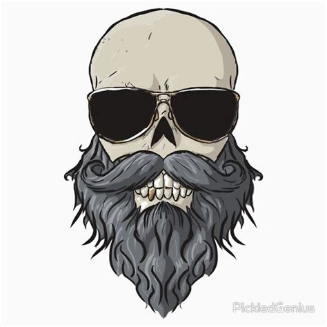bearded skull tattoo bearded skull unisex t shirt calaveras