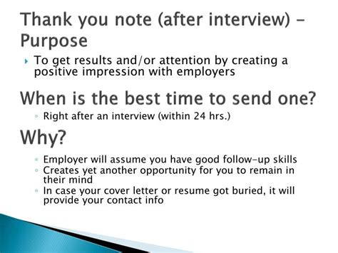 thank you letter after the presentation ppt career planning part 1 powerpoint presentation id