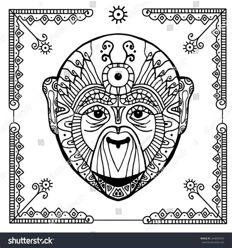 chinese year of the monkey coloring page 86 year of the monkey chinese new year kids coloring