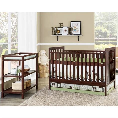 Baby Crib And Changing Table by Dorel Asia Baby Relax 2 In 1 Crib With Changing